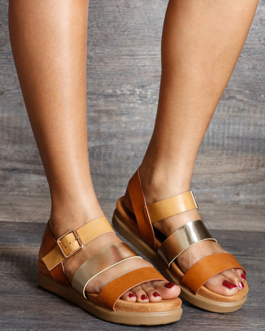 Abby Three  Band Sandals