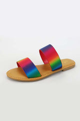 Zita 2 Band Sandal - Rainbow