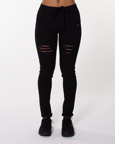 BLACK FIT THE FREE WAY JOGGER