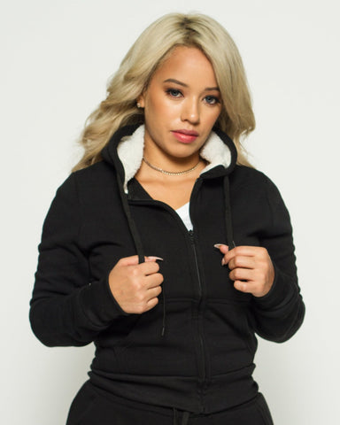 Must Have Sherpa Hoodie (Available in 5 colors)