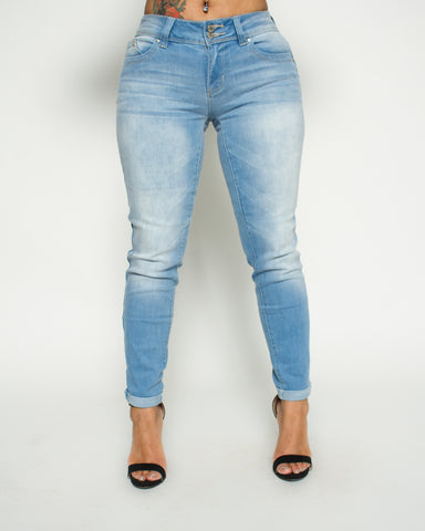 Two Button Roll Cuff Betta B Jeans