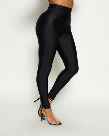 Matte High Waist Leggings