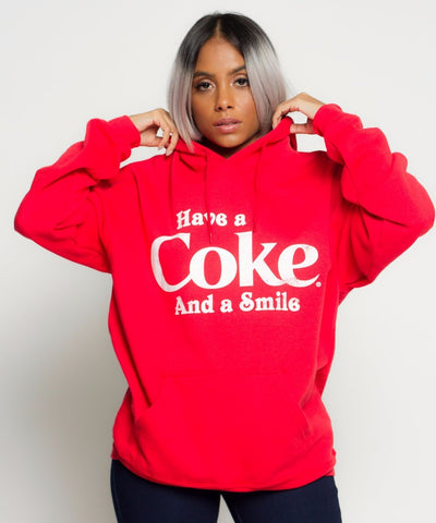 Have A Coke And A Smile Pullover Hoodie