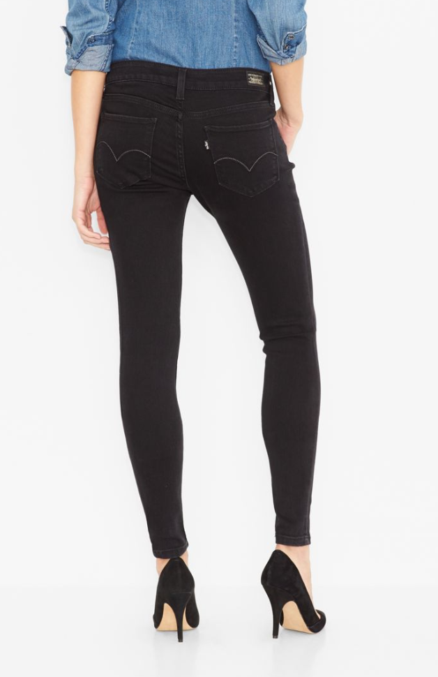 Junior'S 535 Legging Jeans - Black