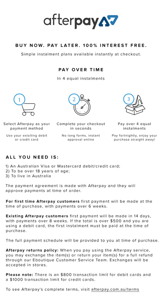 Afterpay Guide