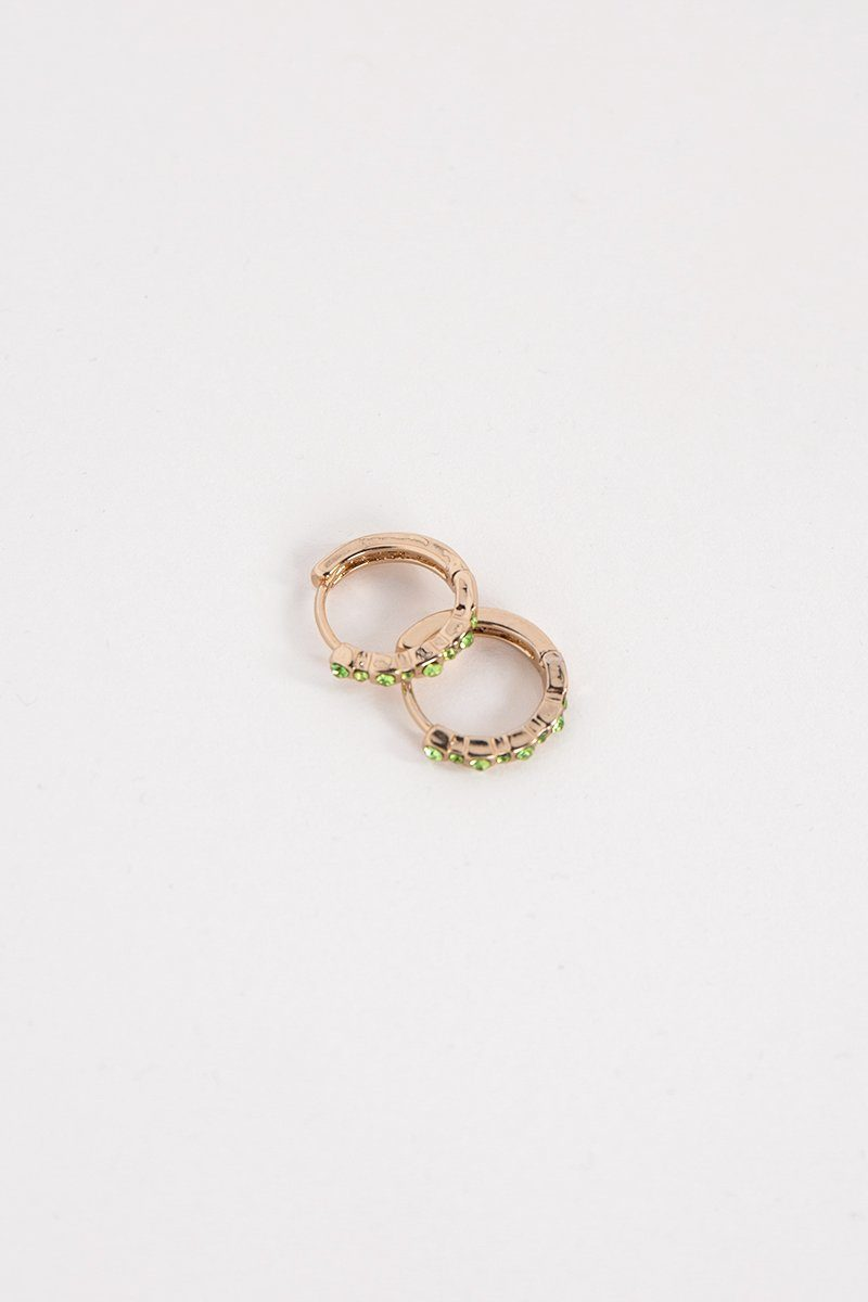 MILLIE GOLD MINI HOOP EARRING Accessories DISSH Boutiques