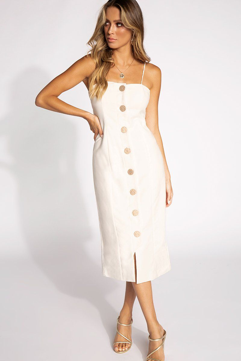 cca25e302b46 POMPEII DRESS Clothing FINDERS KEEPERS L WHITE ...