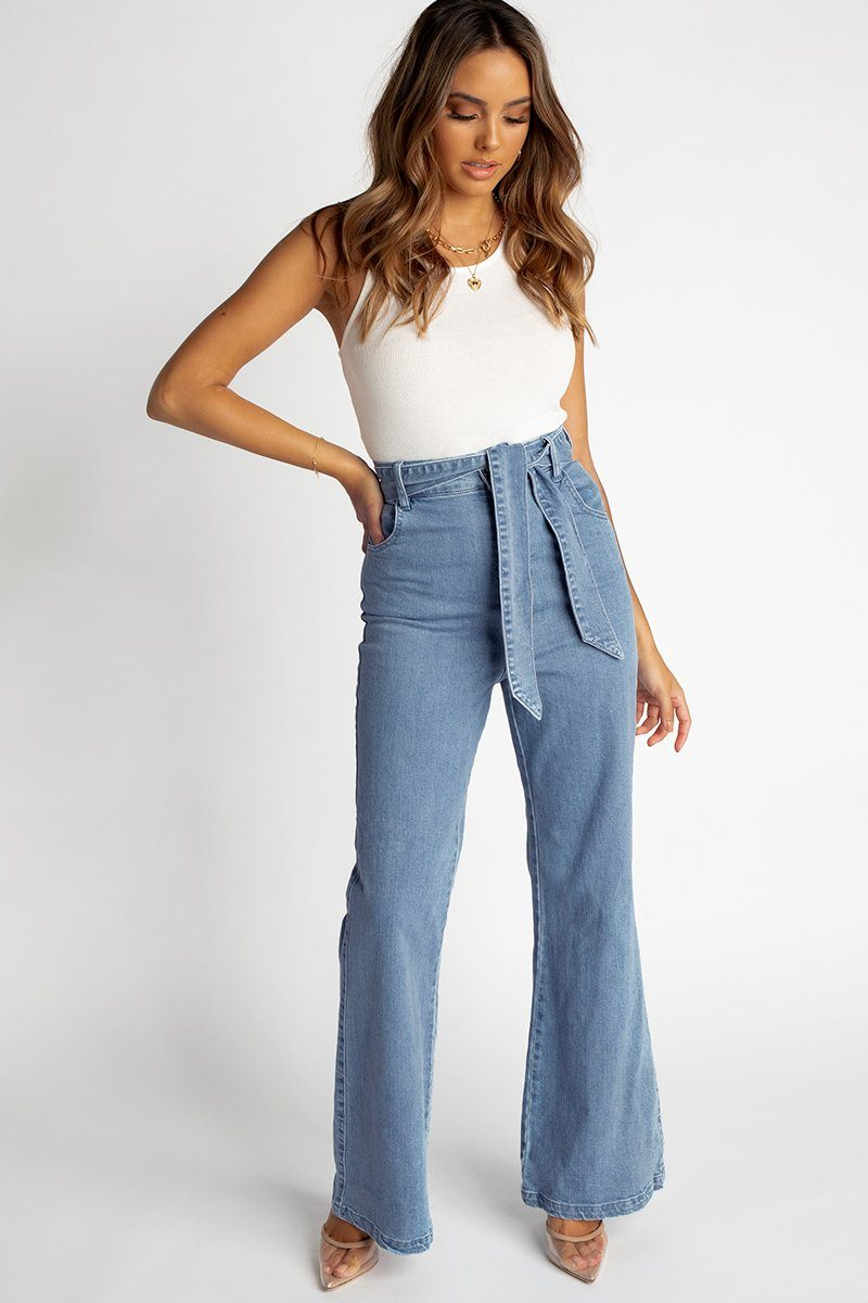 FINDERS KEEPERS MIAMI DENIM JEAN Clothing FINDERS KEEPERS L BLUE