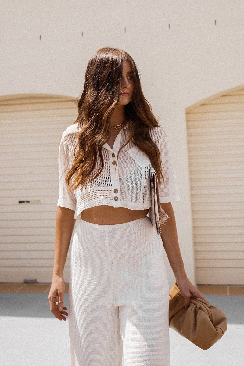 FINDERS KEEPERS COCONUT TOP Clothing FINDERS KEEPERS M IVORY