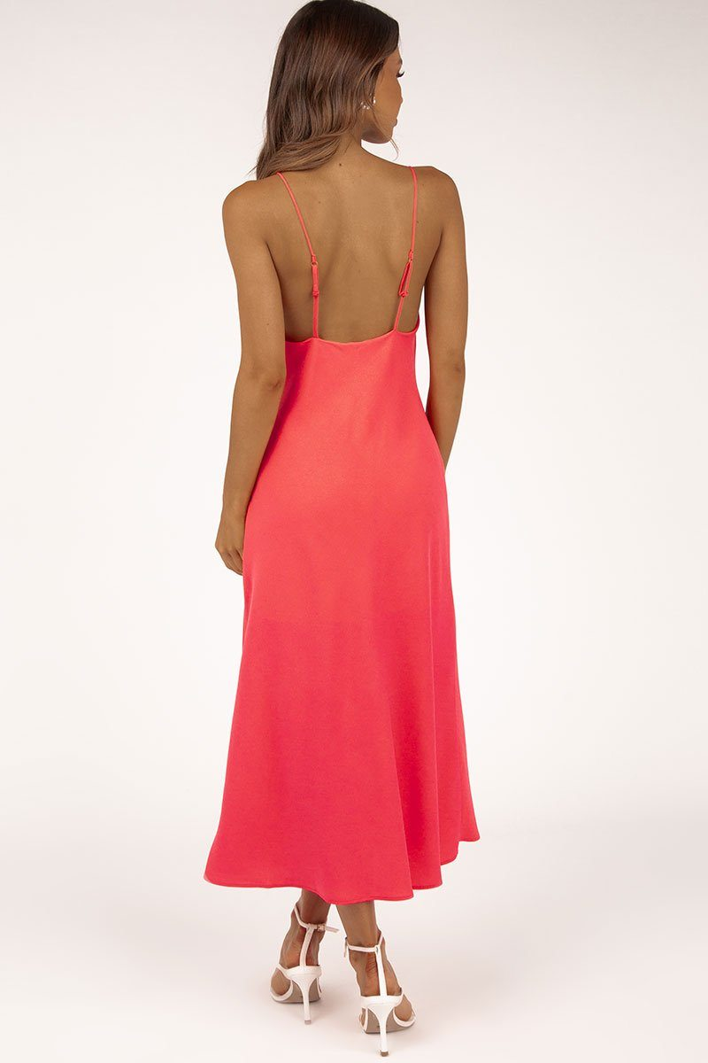 FINDERS KEEPERS SALLY DRESS CORAL