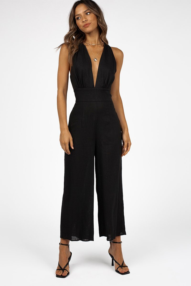 FINDERS KEEPERS SALLY PANTSUIT Clothing FINDERS KEEPERS XS BLACK