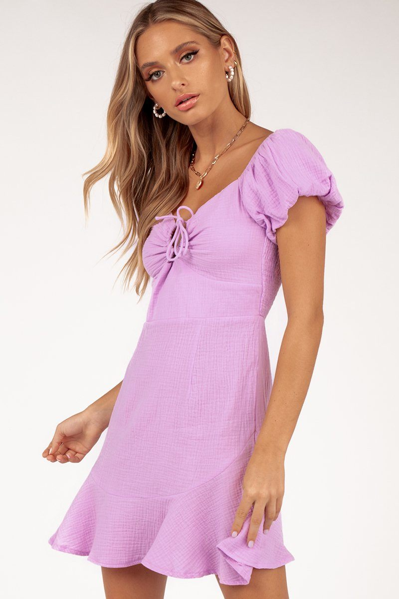 ALFIE SUMMER LILAC DRESS Clothing DISSH Boutiques 6 LILAC