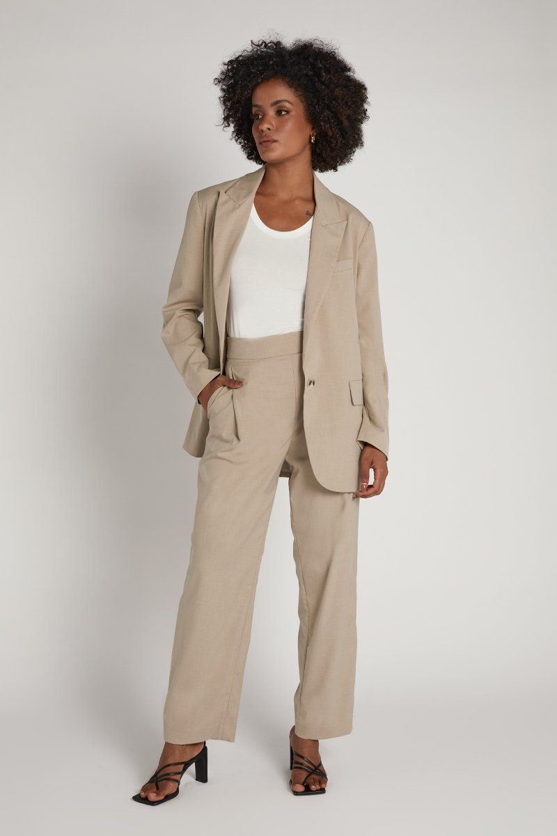 ROZALIA X ATOIR BEIGE THE TROUSER Clothing ROZALIA X ATOIR L BEIGE