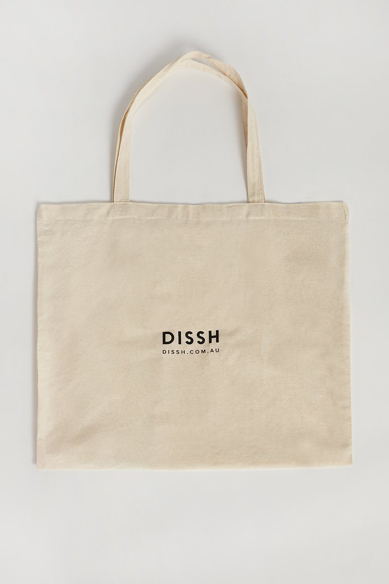 DISSH LARGE COTTON TOTE BAG Accessories DISSH Boutiques