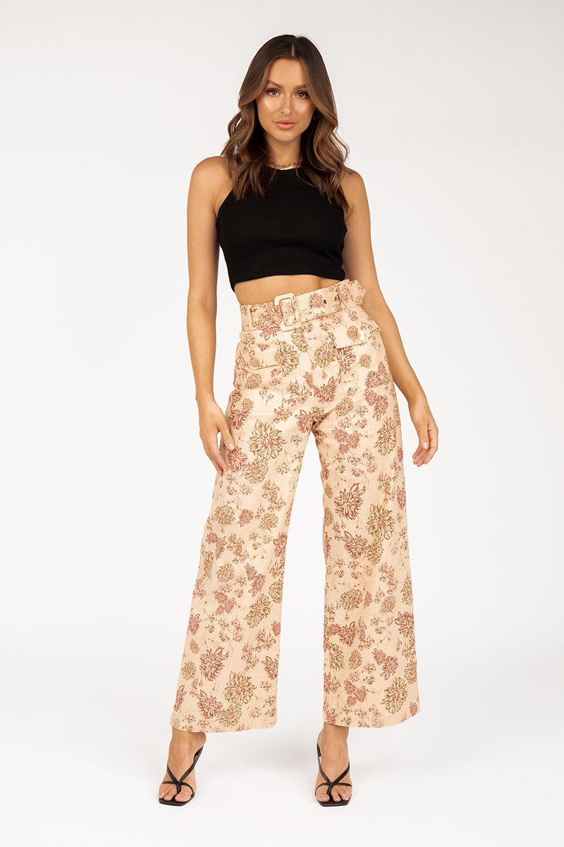 WARRIOR BEIGE PANTS Clothing DISSH Boutiques 6 BEIGE