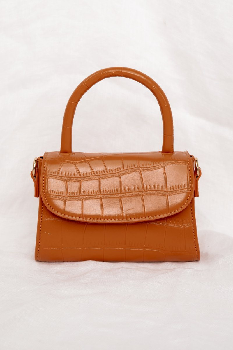 IT GIRL TERRACOTTA MINI BAG Accessories DISSH Boutiques O/S TERRACOTTA