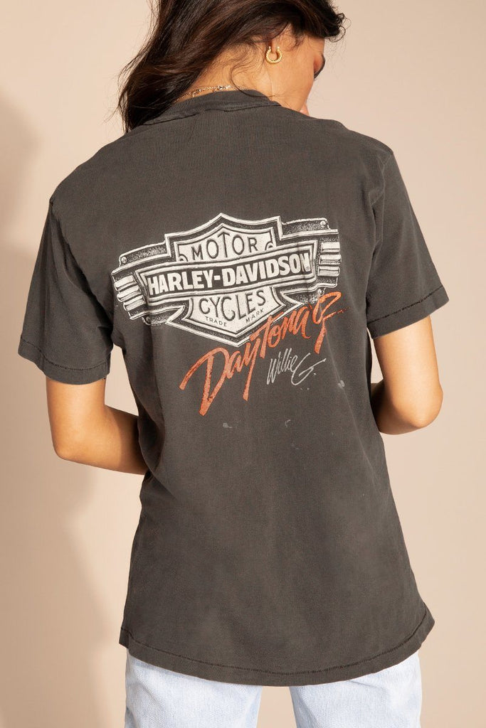 Bad To The Bone Vintage Harley Tee Dissh