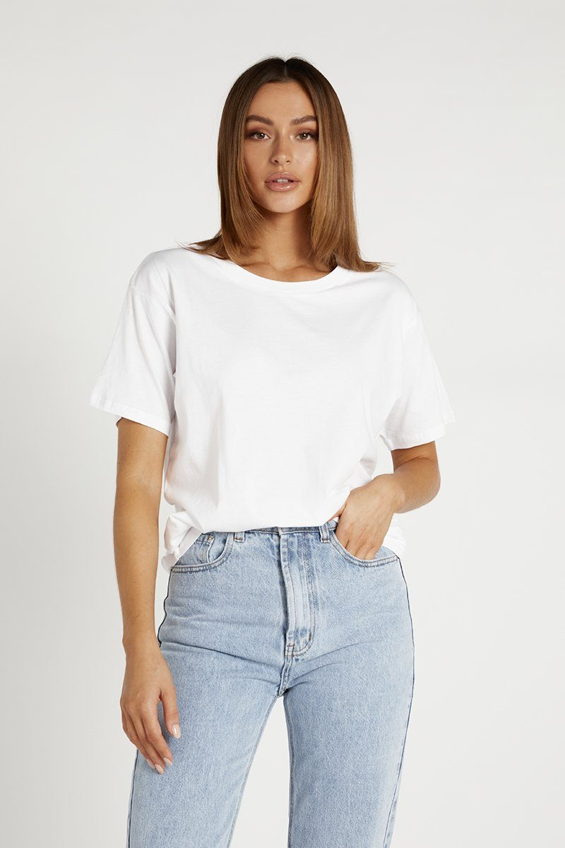 NUDE LUCY FRANKIE BOYFRIEND TEE Clothing DISSH Boutiques