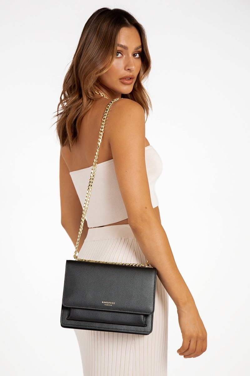 NAKEDVICE REGIS TALL SIDE BAG Accessories DISSH Boutiques O/S BLACK