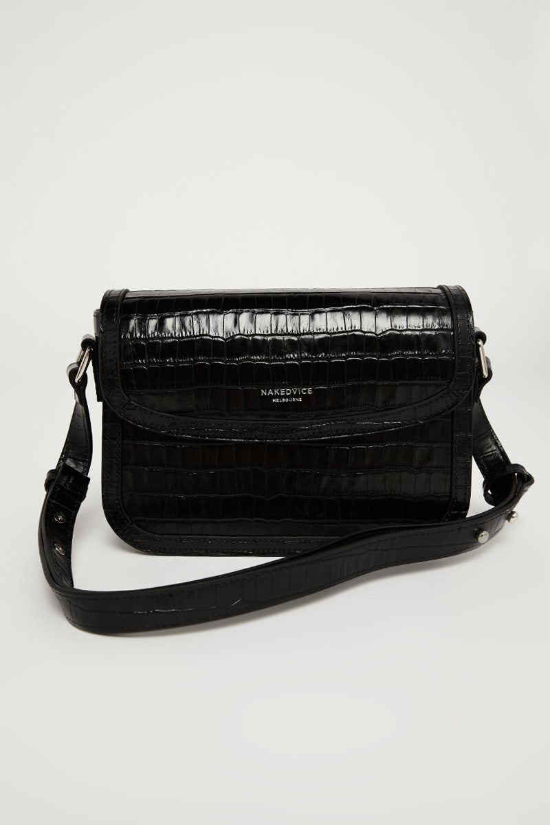NAKEDVICE JETT LEATHER SIDE BAG