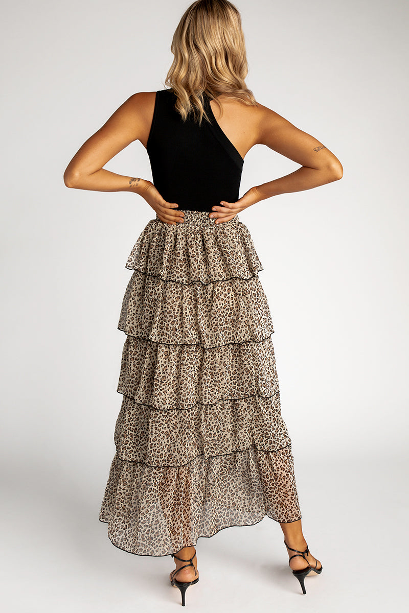 8d057270453 ... LAST THING LEOPARD TIER MAXI SKIRT Clothing DISSH EXCLUSIVE ...