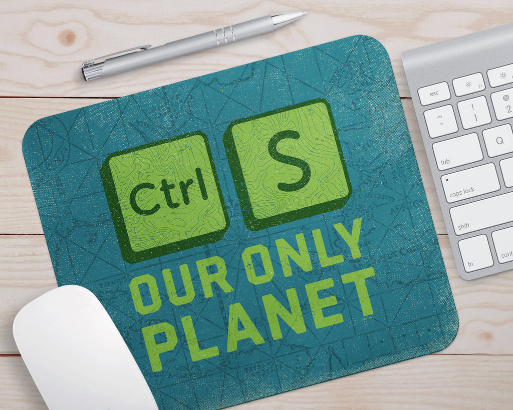 PC_SAVE PLANET - Mouse Pad