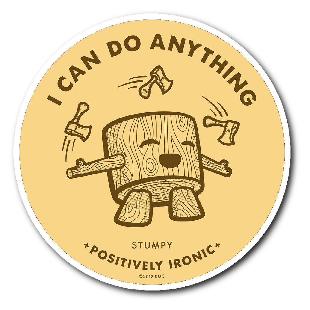 STUMPY - Sticker