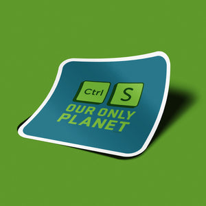 PC_SAVE PLANET - Sticker