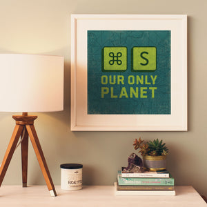 MAC_SAVE PLANET - Poster