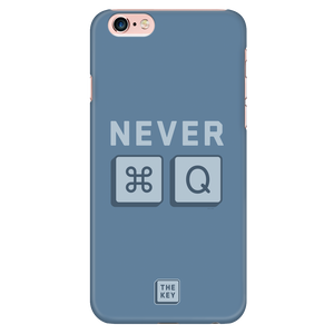 MAC_NEVER QUIT - iPhone 6/6S Case