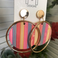 Sweet tart earrings