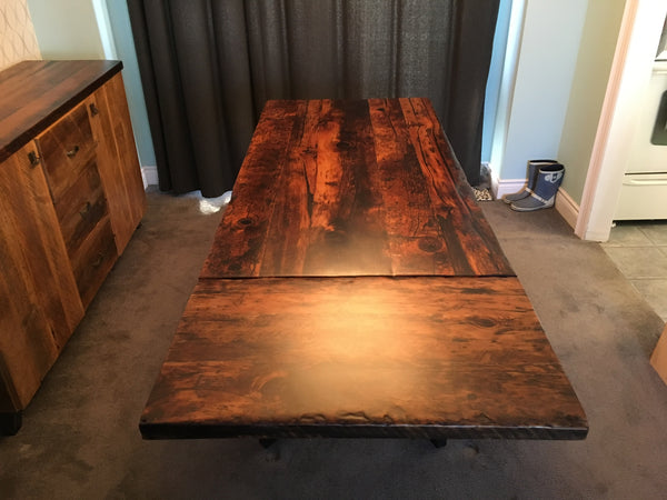 Custom Made Extension Dining Amp Kitchen Tables Lush Woodcraft