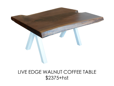 Walnut, coffee table, urban, steel, epoxy, rustic, home, wood, custom, eco friendly