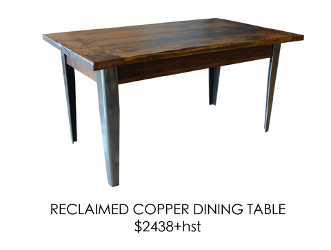 Reclaimed, table, urban, steel, epoxy, rustic, home, wood, custom, eco friendly