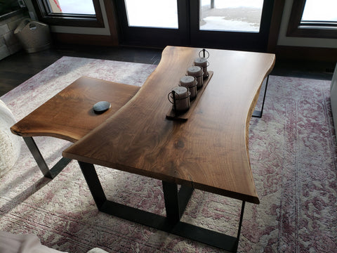 Coffee Table, Lush woodcraft, Custom. We are a one-stop-shop! We can custom anything, you name it, we can do it! Yes we love furniture, but we can do so much more! Ask us and we will gladly assist you with your dream vision. We cannot wait to meet you!