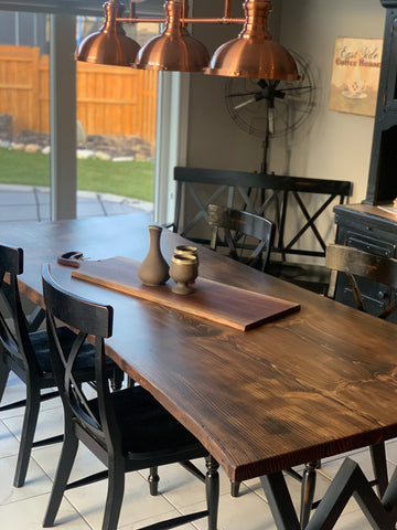 Dining Table, Lush woodcraft, Custom. We are a one-stop-shop! We can custom anything, you name it, we can do it! Yes we love furniture, but we can do so much more! Ask us and we will gladly assist you with your dream vision. We cannot wait to meet you!