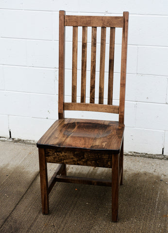 Wormy Maple Dining Chair