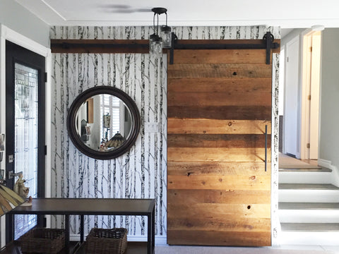 Barn Door, Lush woodcraft, Custom. We are a one-stop-shop! We can custom anything, you name it, we can do it! Yes we love furniture, but we can do so much more! Ask us and we will gladly assist you with your dream vision. We cannot wait to meet you!