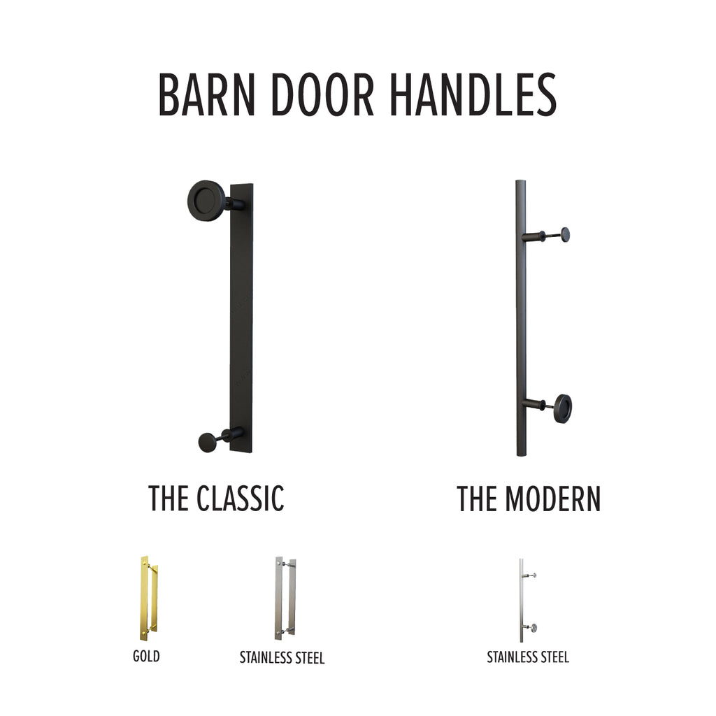 barn door hardware handles