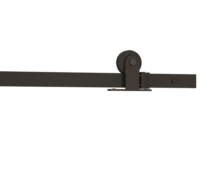 We have lots of different styles of barn door tracks & wheels. They come in stainless steel, black & gold and are available in various lengths.