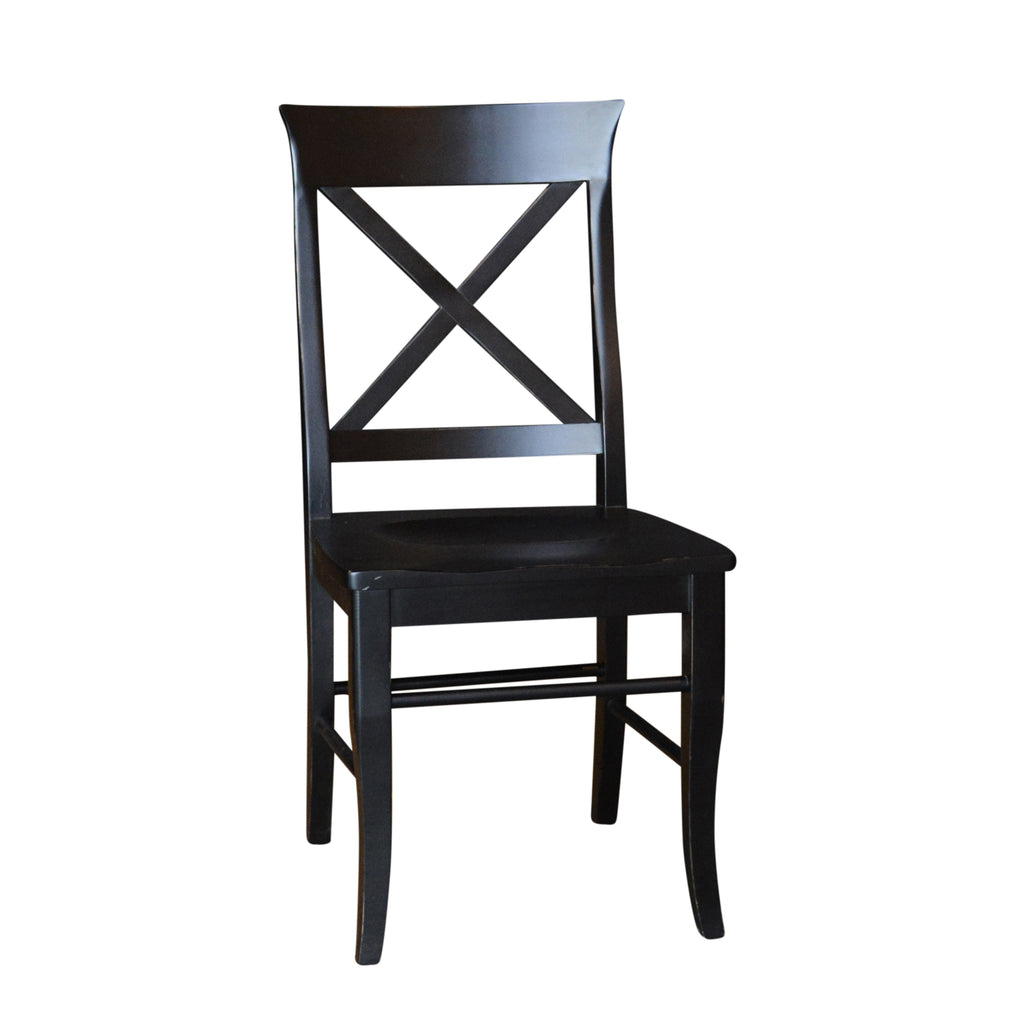 Custom solid wood dining chairs & stools. ANY SIZE, ANY COLOUR.