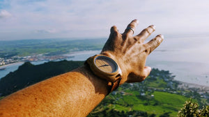 Vilo Napoleon Wooden Watch - Mt Manaia