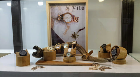 Fishers Jewellers - Vilo Wood Watches