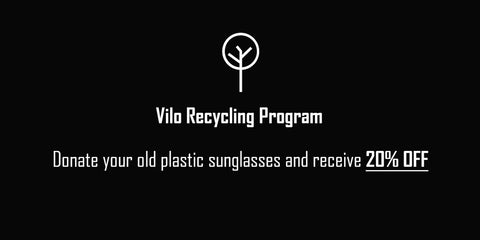 Vilo Sunglasses Recycling Program Australia