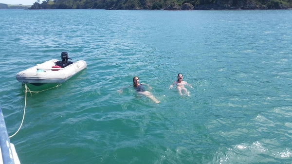 Swimming Bay of Islands NZ