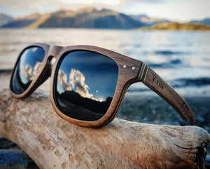 Vilo Wooden Sunglasses, Canyon in Wanaka