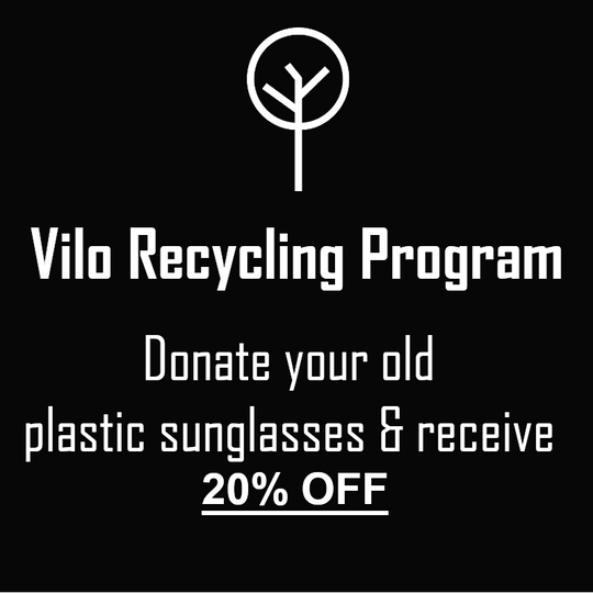 Vilo Sunglasses Recycling Program