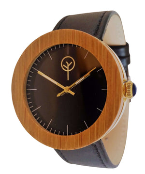Vilo Womens Wooden Watch // Raven: