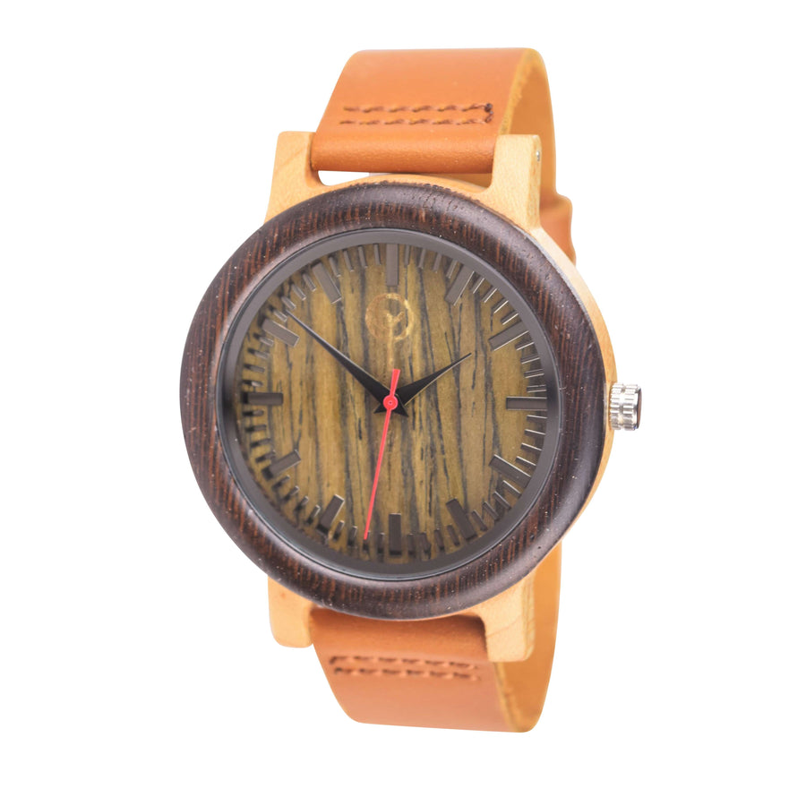 Vilo Mens Wood Watch // Dusky: