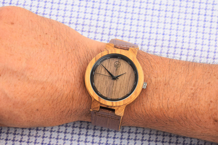 Vilo Mens Wooden Watch // Boston: